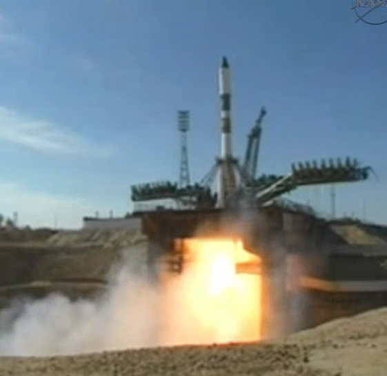 Russian Cargo Ship Launches on Halloween Mission to Space Station