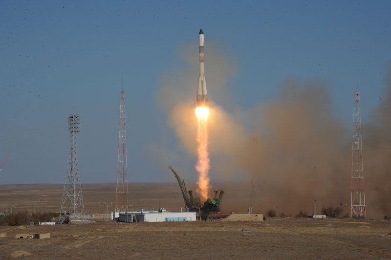 Unmanned Spacecraft Progress M-17M Launched #2