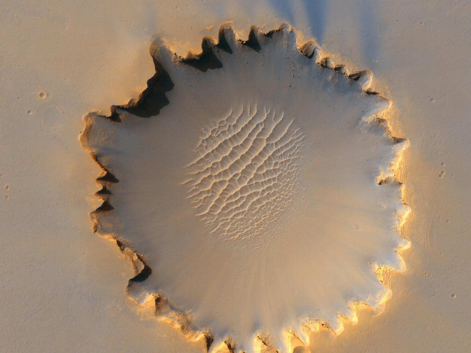 'Victoria Crater' at Meridiani Planum