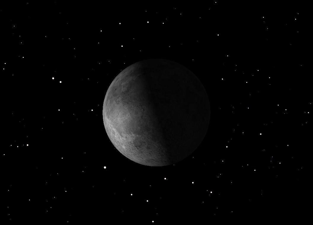 November 2012 Last Quarter Moon