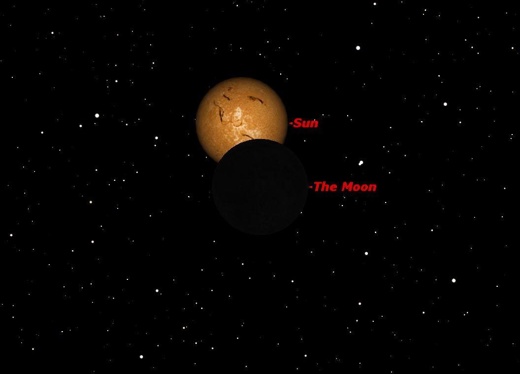 November 2012 New Moon Sky Map