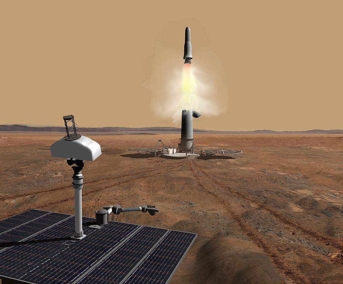 Future Mars Missions: Can Humans Trump Robots?