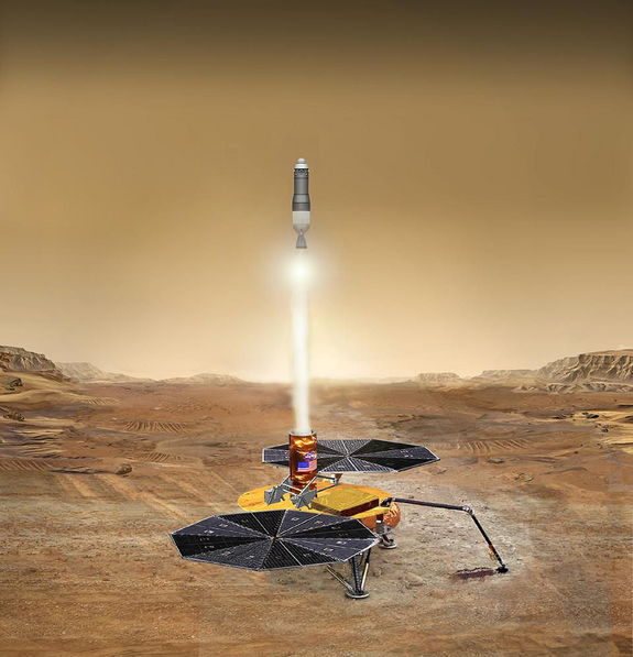 Over the decades, a number of technical assessments have been done to blueprint how to lob bits and pieces of Mars back to Earth.
