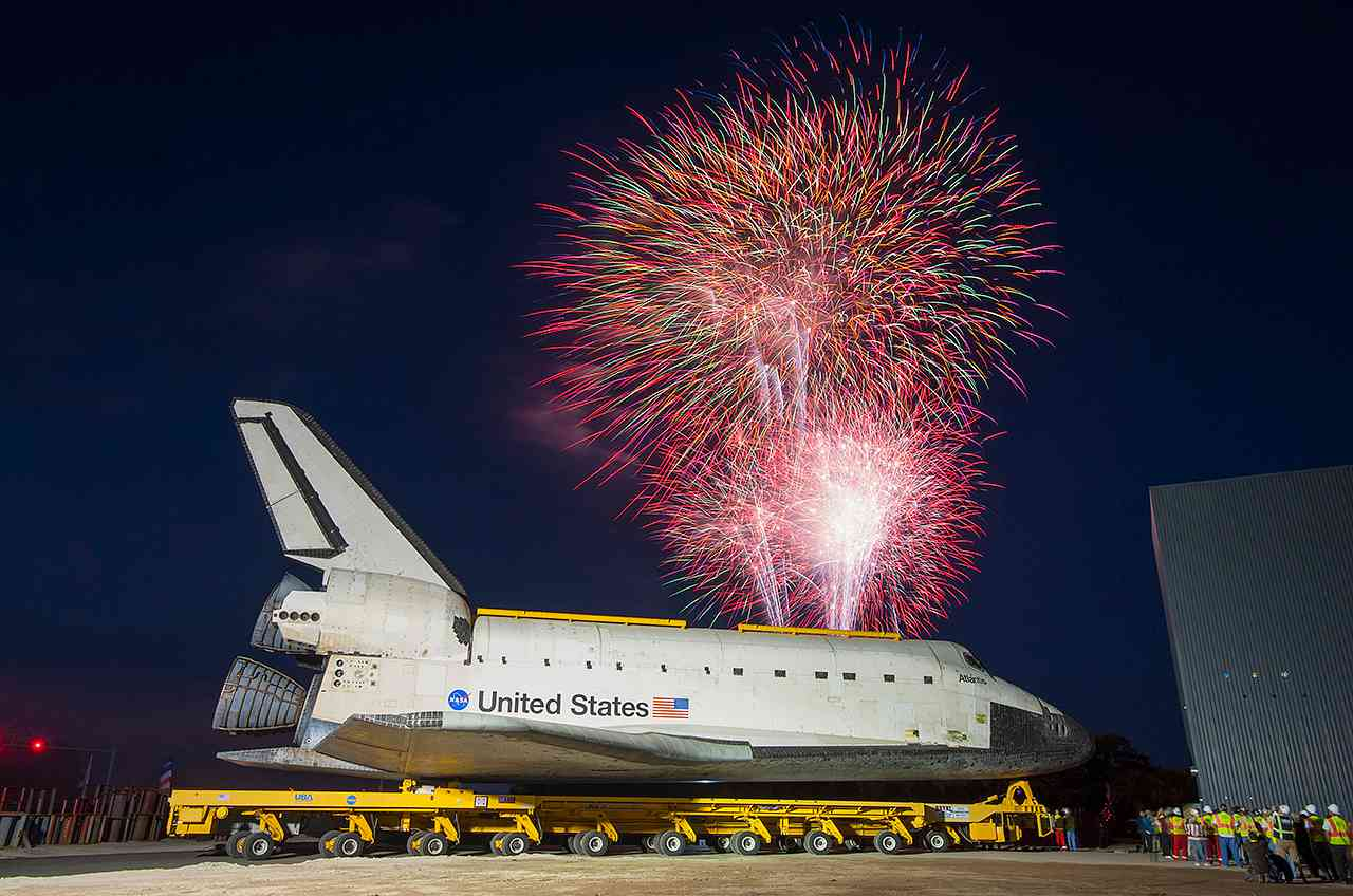 Space Shuttle Atlantis, NASA's Last Orbiter, Completes Journey to Museum