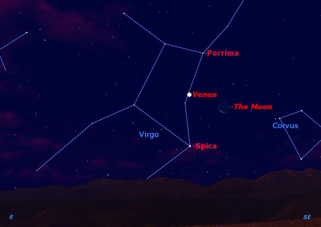 Cosmic Triple Treat Will Shine in This Weekend's Dawn Skies