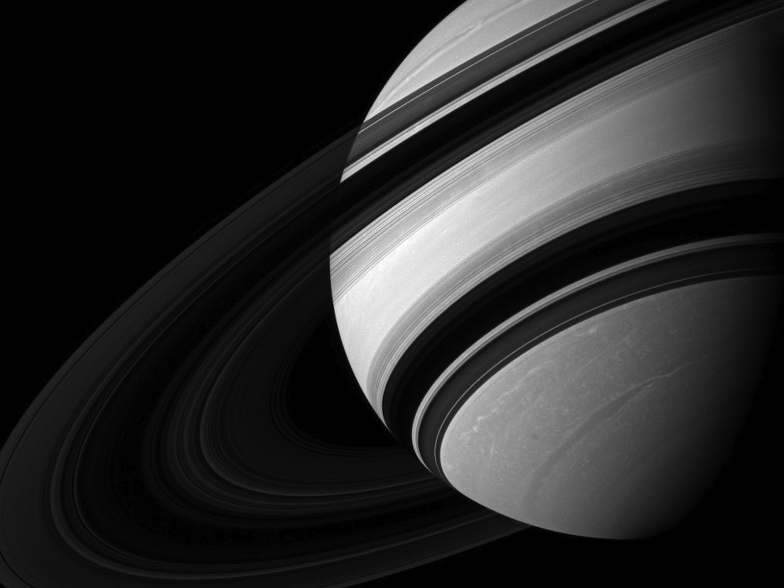 Dwarfed by Saturn