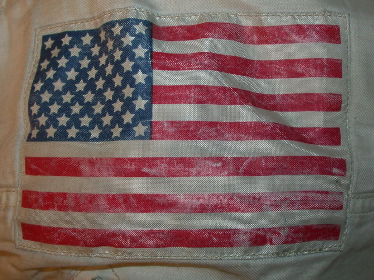 Apollo 11 American Flag Patch