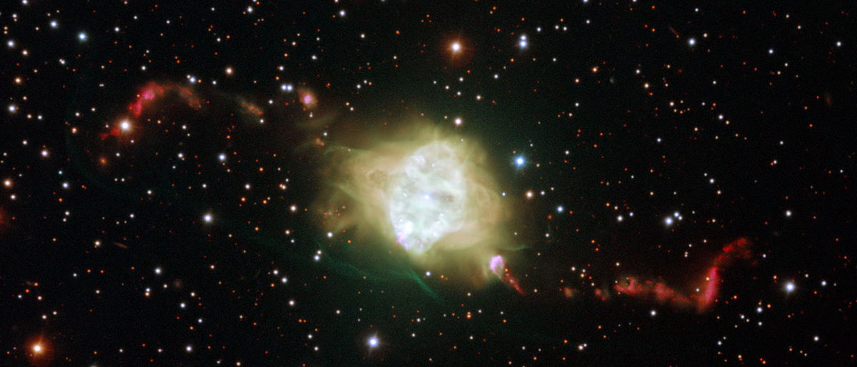 Mysterious Origin of Nebula's Strange Jets Revealed