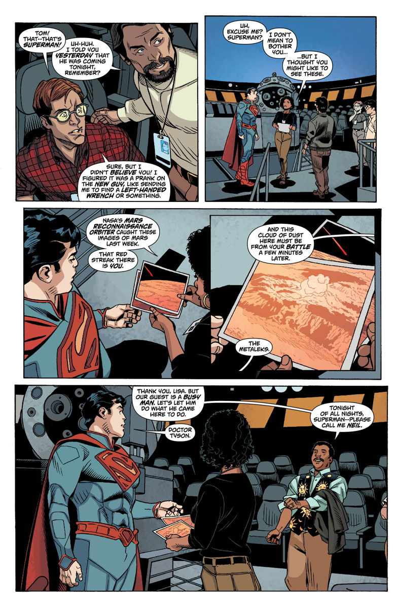 Neil deGrasse Tyson Meets Superman