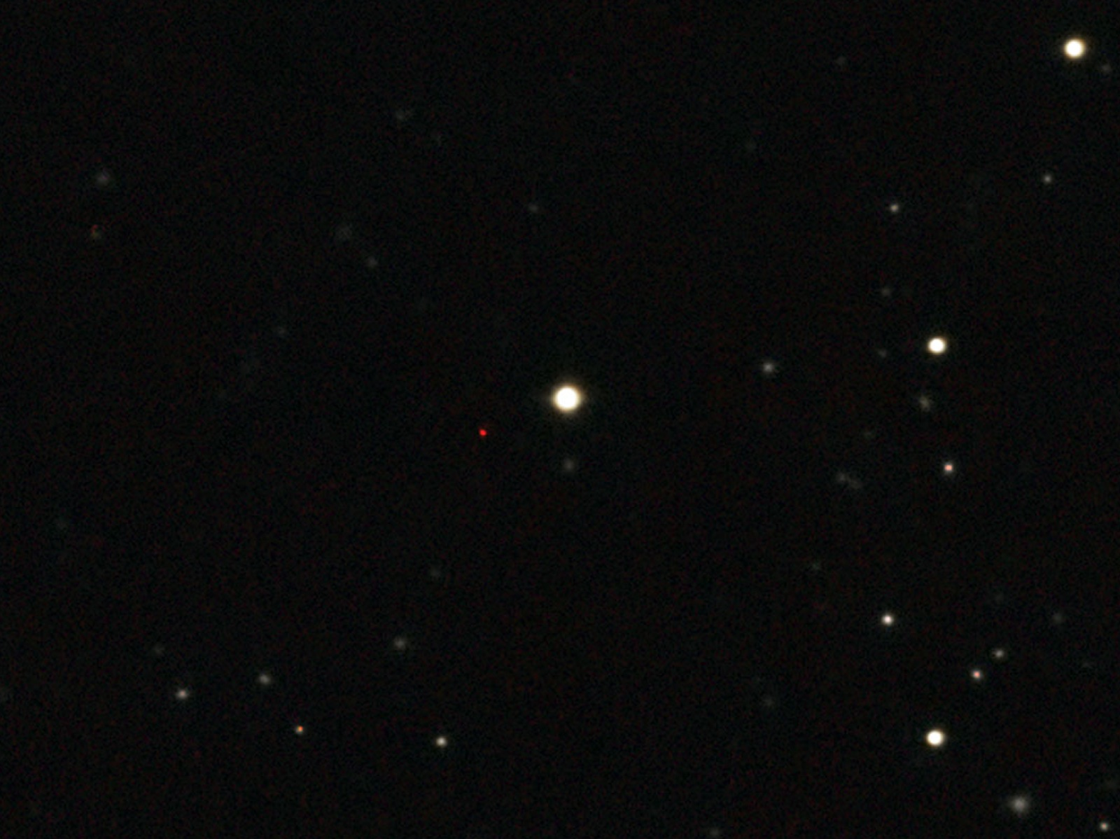 Most distant quasar 1600