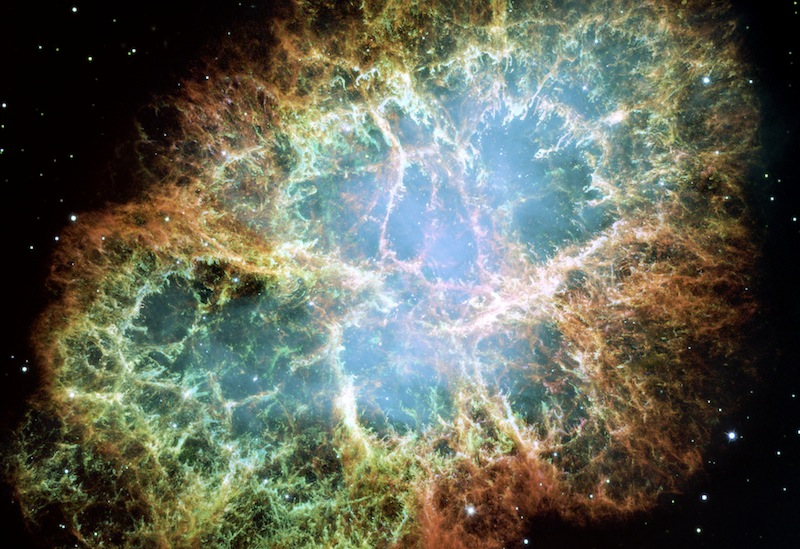 Crab Nebula: Recent Supernova With A Beating Heart