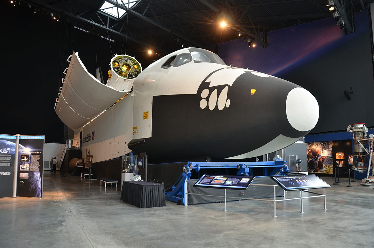 Full-Size Space Shuttle Mockup Opening to Public in Seattle