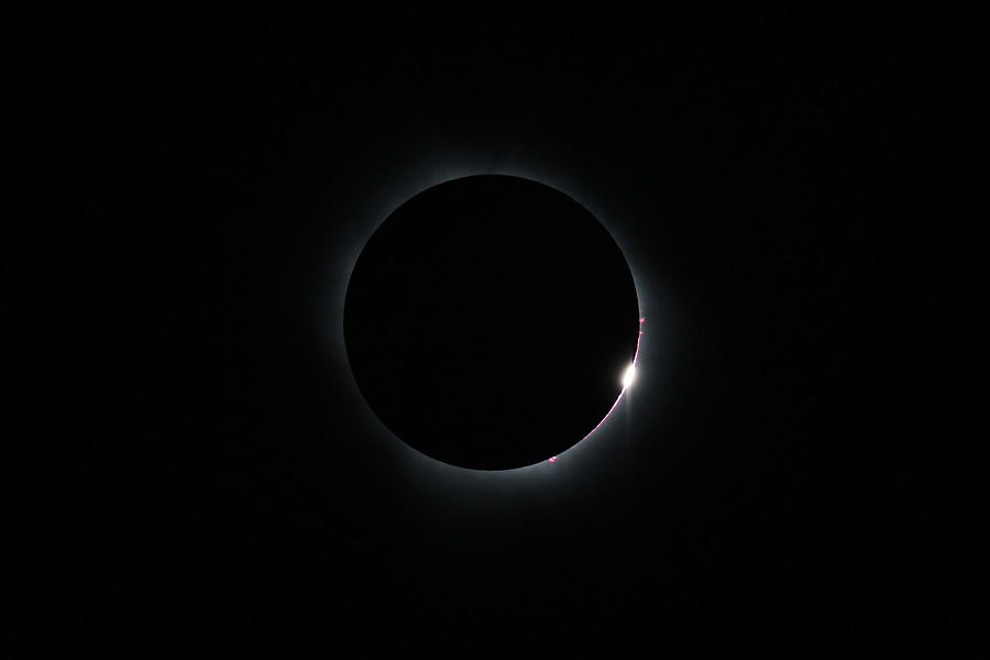 Total Solar Eclipse: 1st Diamond Ring