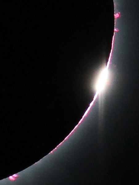 Total Solar Eclipse: Diamond Ring Close-Up