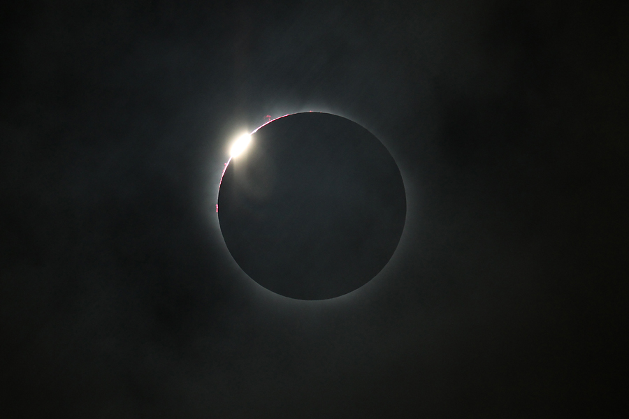 Total Solar Eclipse: 2nd Diamond Ring