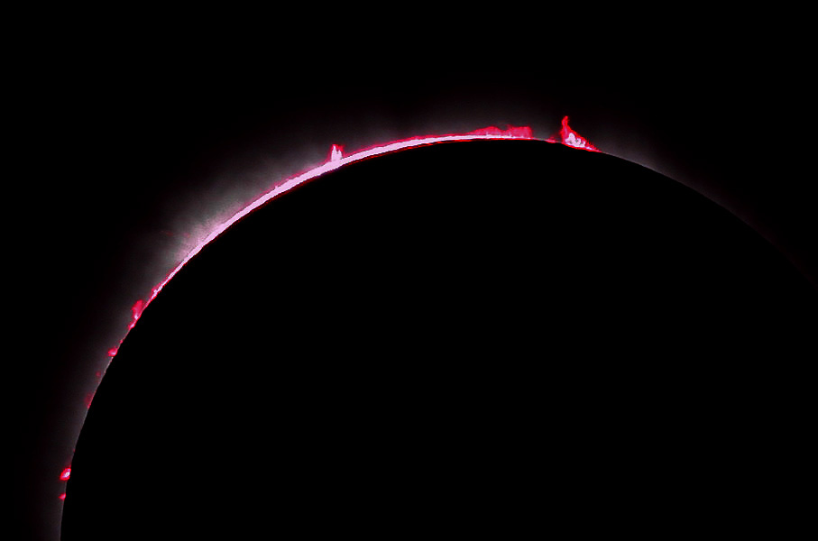 Enhanced View of Prominences and the Chromosphere