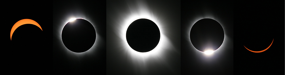 Montage of the March 29, 2006 Eclipse
