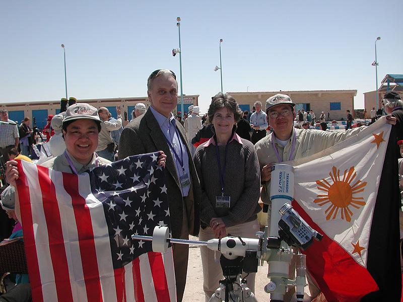 Total Solar Eclipse 2006: U.S. Ambassador