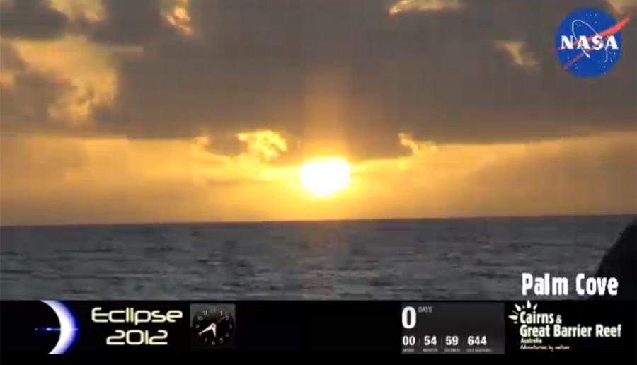 Just-Risen Sun
