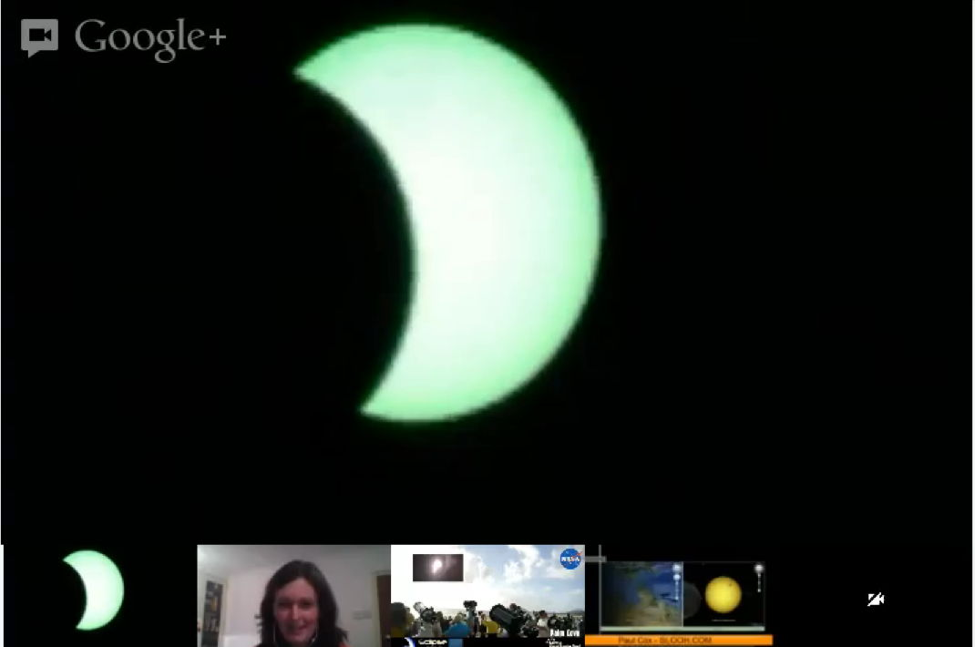 SLOOH Image of Solar Eclipse of Nov. 13, 2012 (EST)