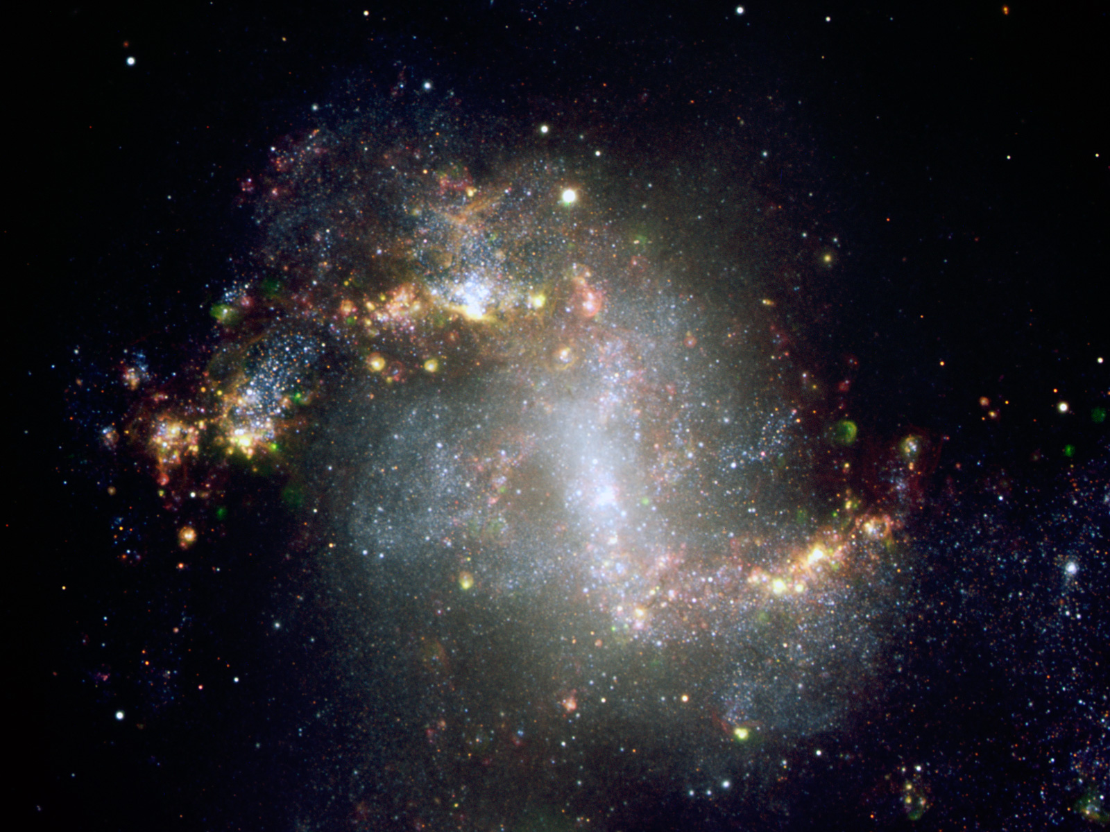The Topsy-Turvy Galaxy NGC 1313