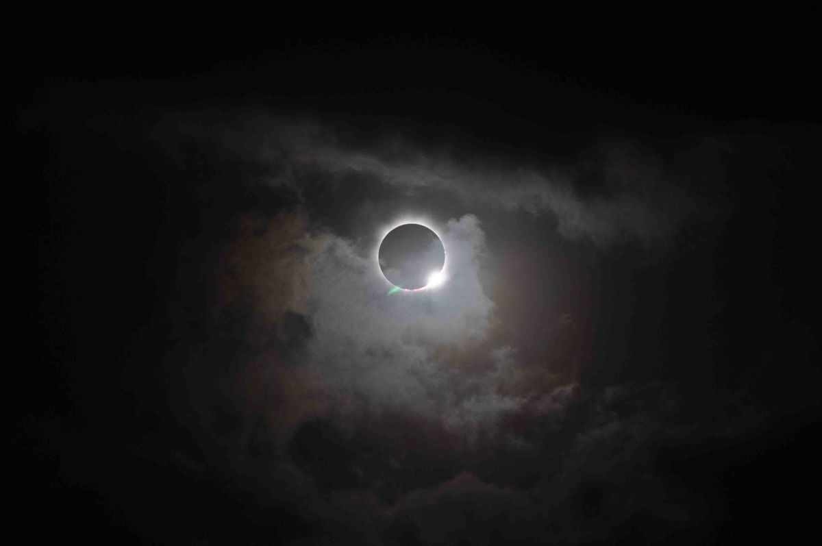 Solar Eclipse Seen by NASA's Solar Dynamic Observatory