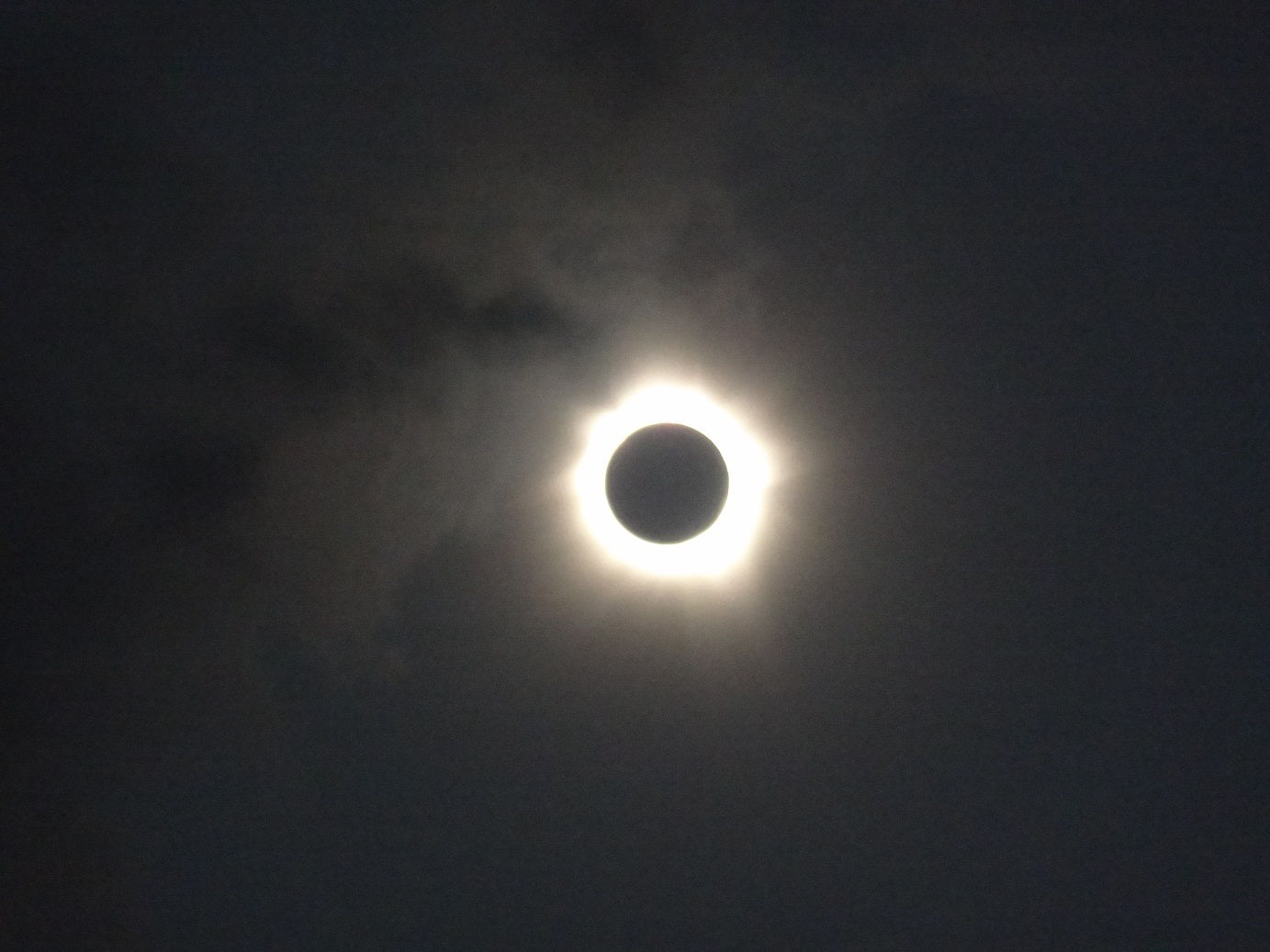 Eclipse Seen Over Cairns, Australia