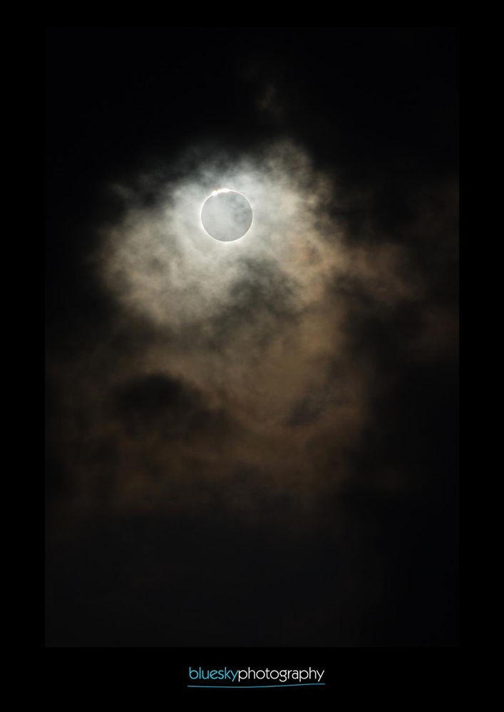 Eclipse Shot in Cairns, Australia