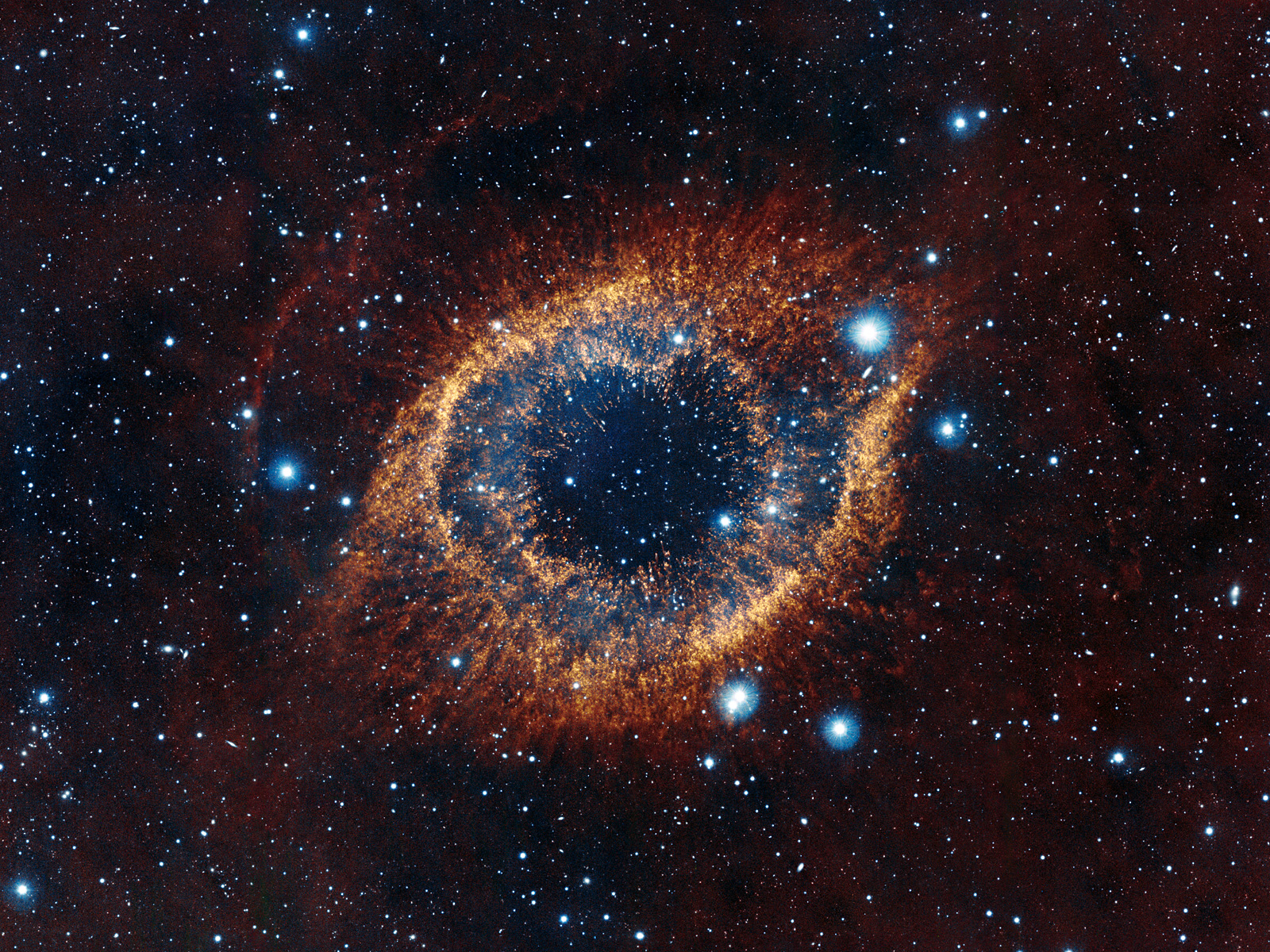 VISTA's look at the Helix Nebula 1600