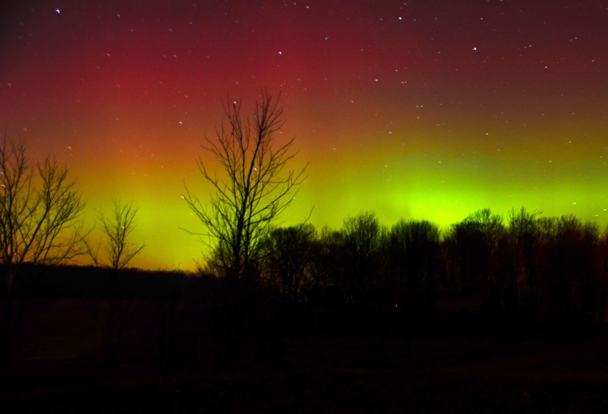 Aurora Over Mid-Michigan, Nov. 13, 2012