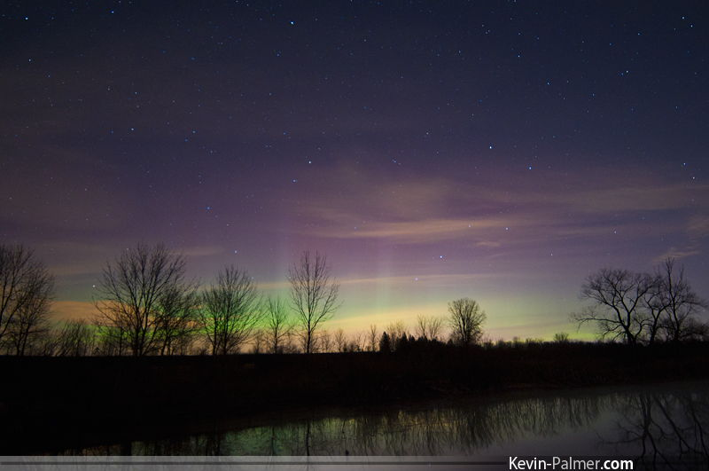 Aurora Over Brighton, WI