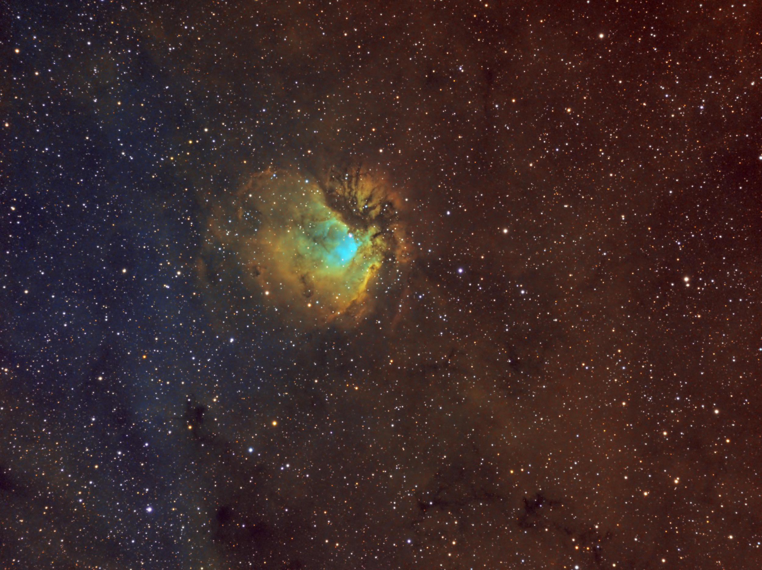 Stargazer Captures Striking Nebula View (Photo)