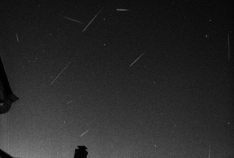 Early Leonid Meteors Caught On Camera