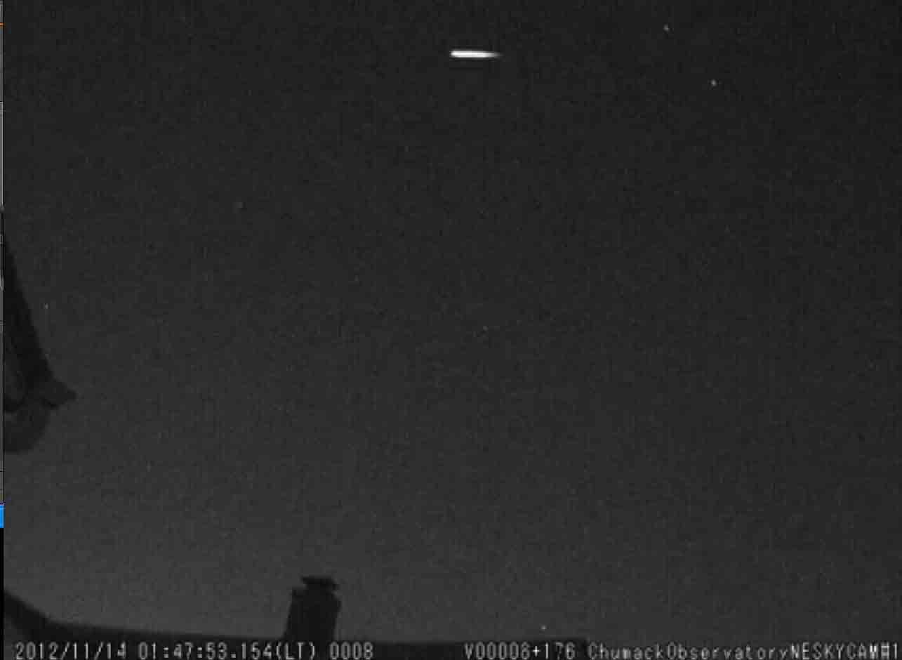 Early 2012 Leonid Meteors