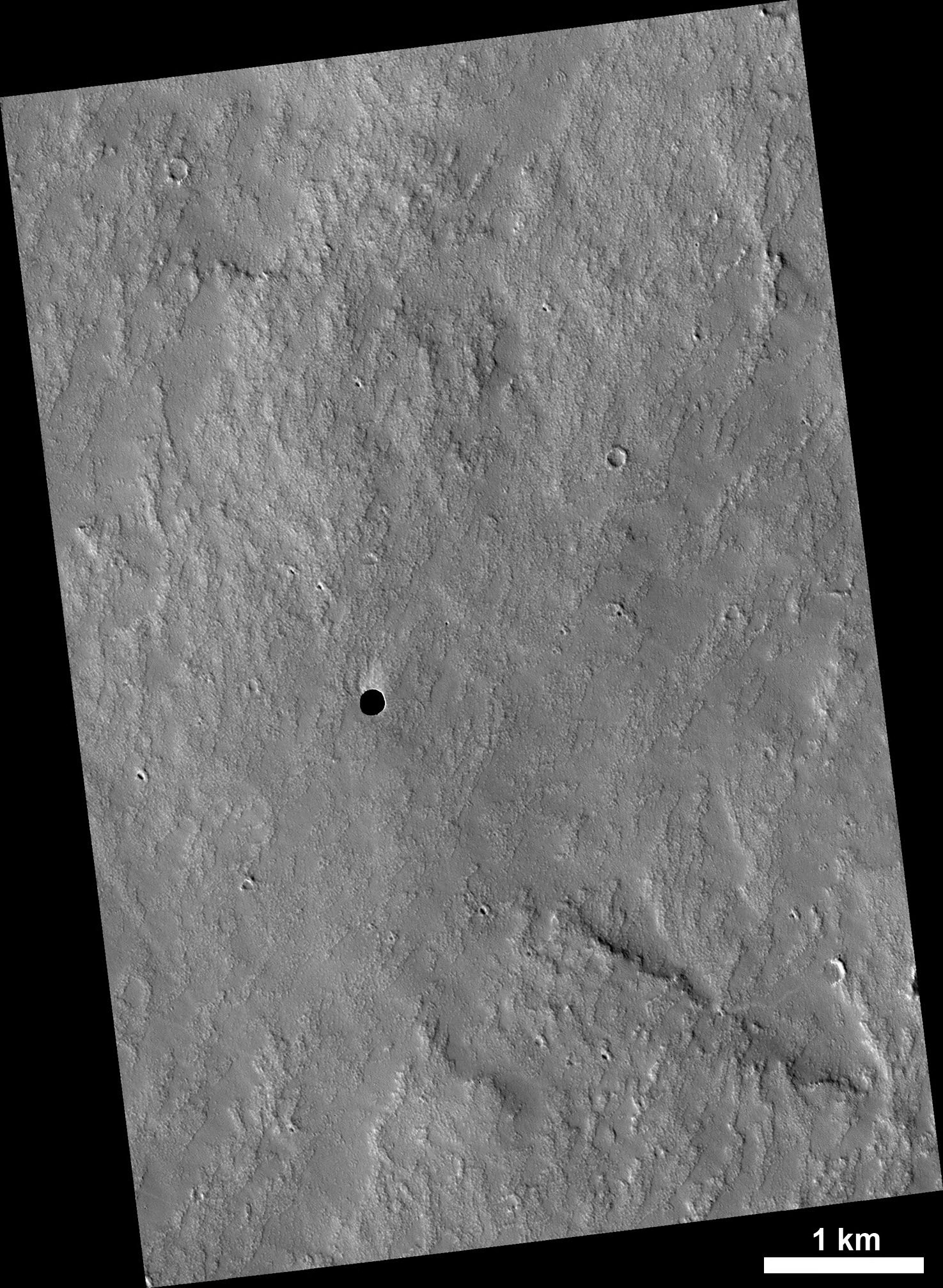 Mars Cave on Volcano's Flank