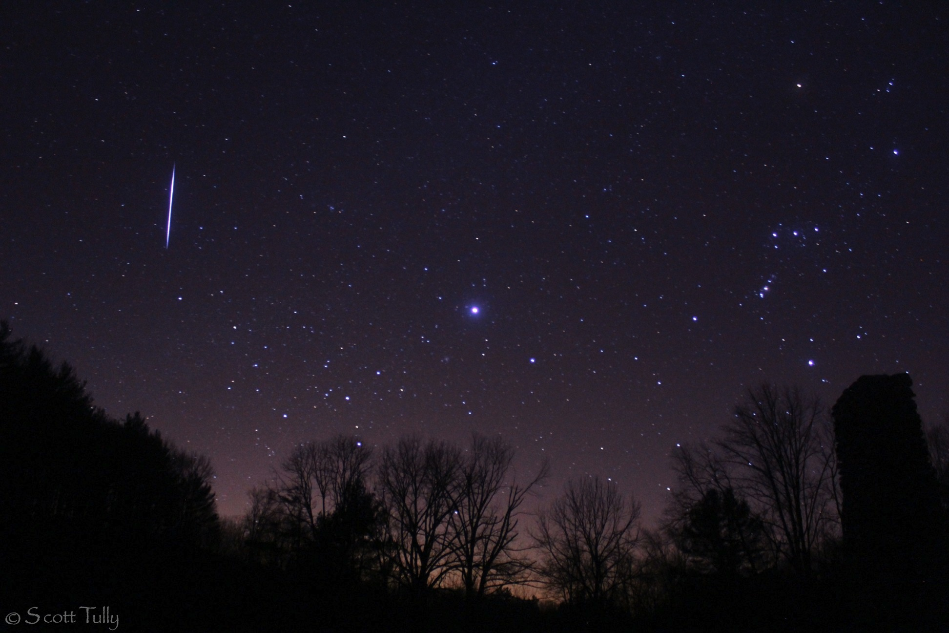 Leonid Meteor Shower 2012: Scott Tully