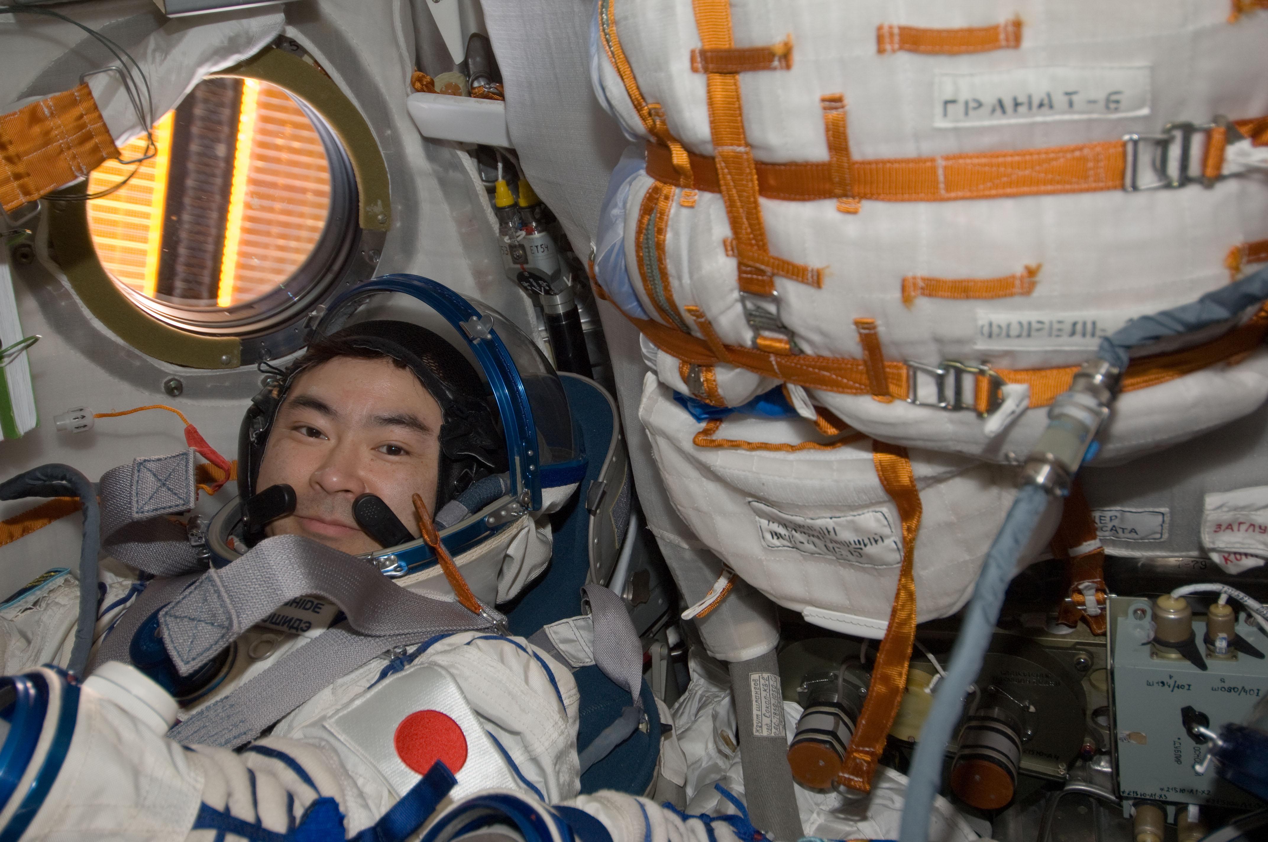 Expedition 33 Landing: Akihiko Hoshide