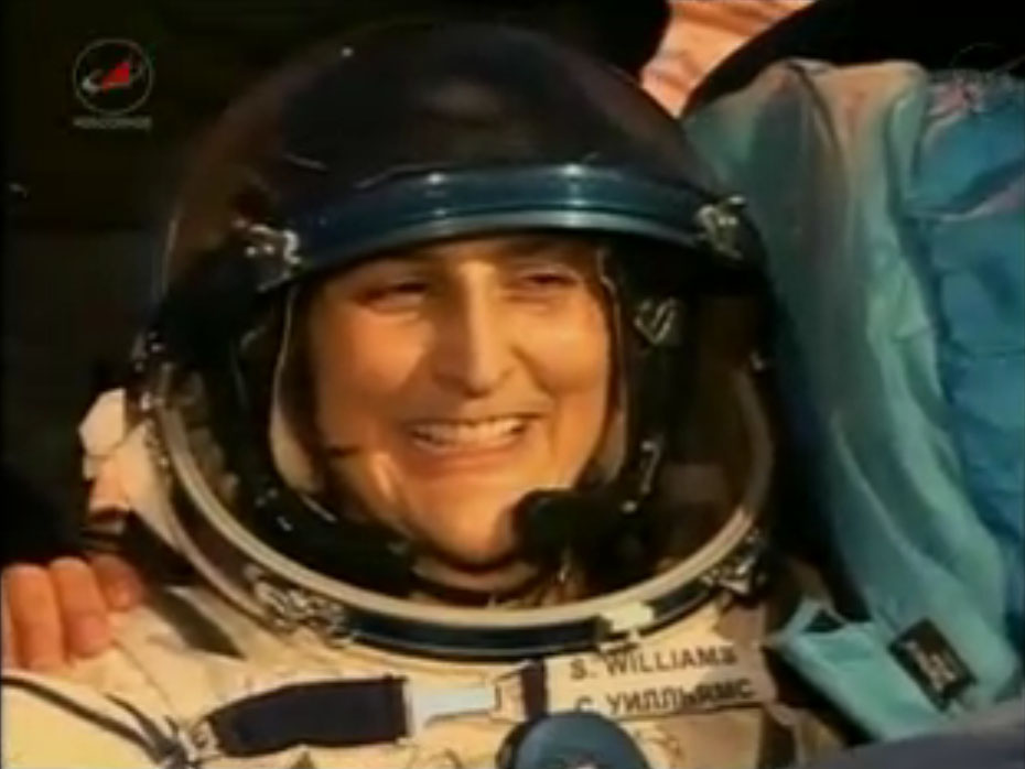 Expedition 33 Landing: Sunita Williams