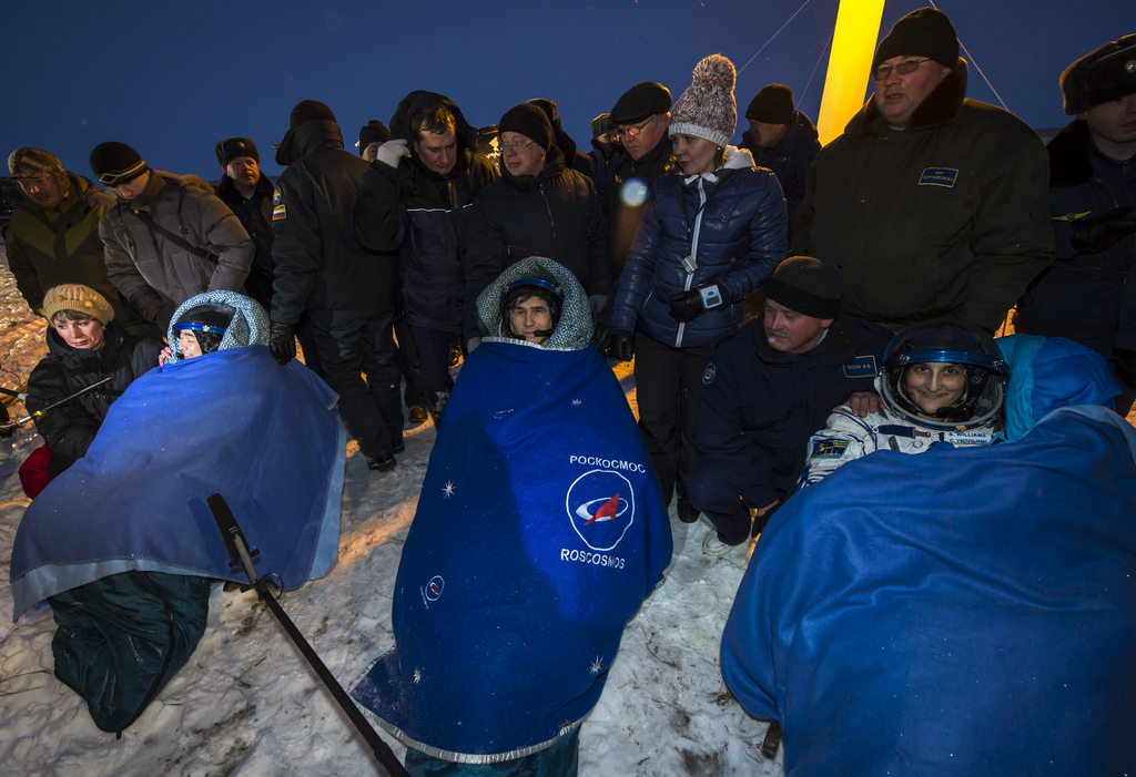 Expedition 33 Soyuz Landing
