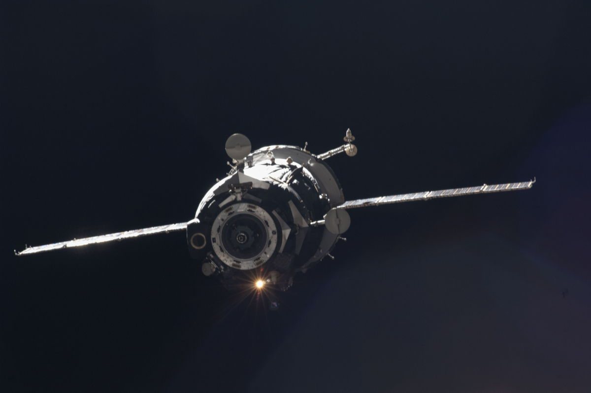Soyuz TMA-05M Departs International Space Station