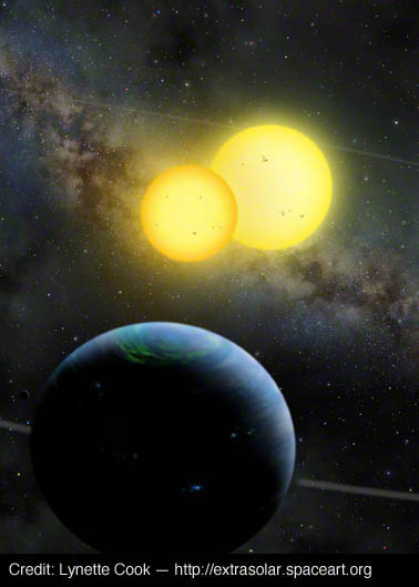 Illustrating Exoplanets: Q&A with Space Artist Lynette Cook