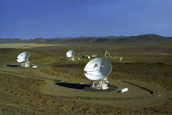 Space History Photo: Goldstone Deep Space Communication Complex