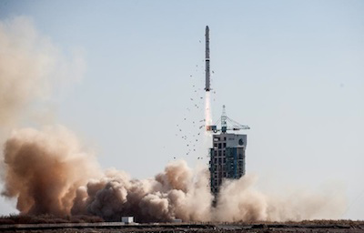 China Launches Rocket on Naval Surveillance Mission