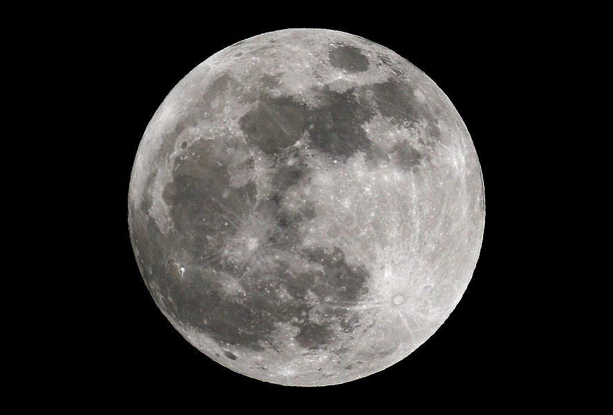 Full Moon: Up Close and Personal