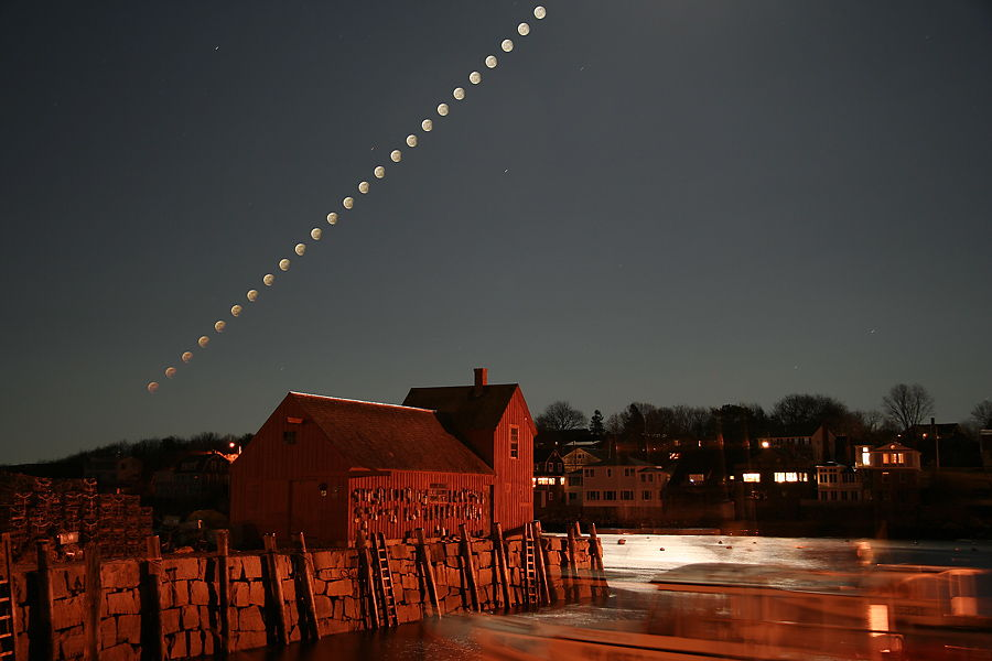 Penumbral Eclipse Sequence in 2006
