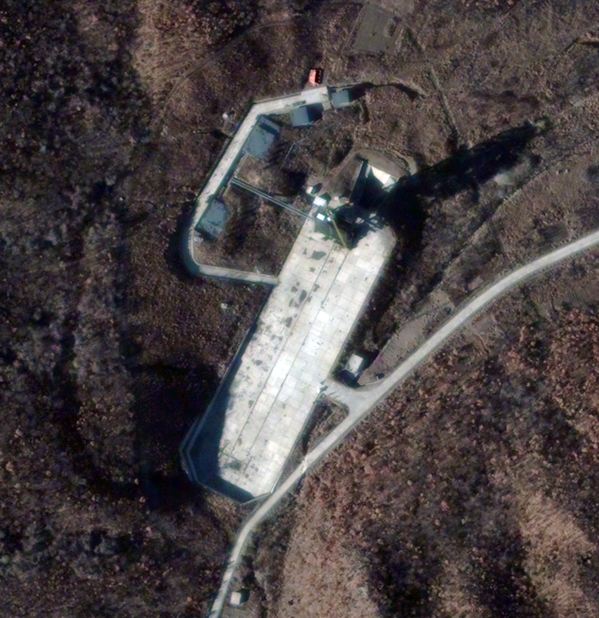 North Korea May Launch Rocket Soon, Satellite Photo Shows