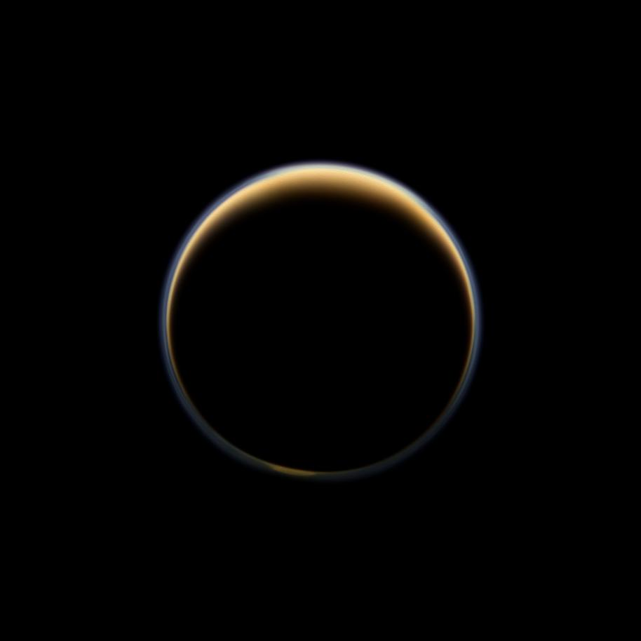 Saturn Moon Titan's Atmosphere Shows Surprising Rise