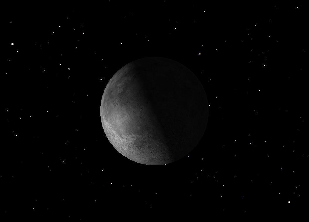 December 2012 Last Quarter Moon