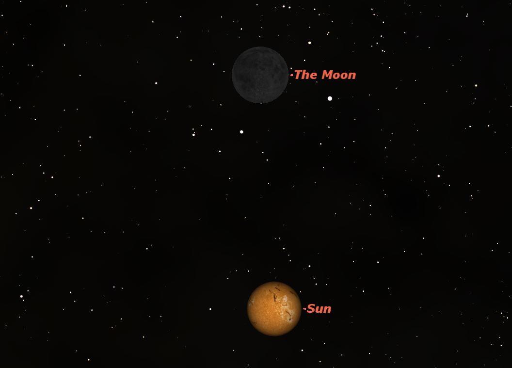 December 2012 New Moon