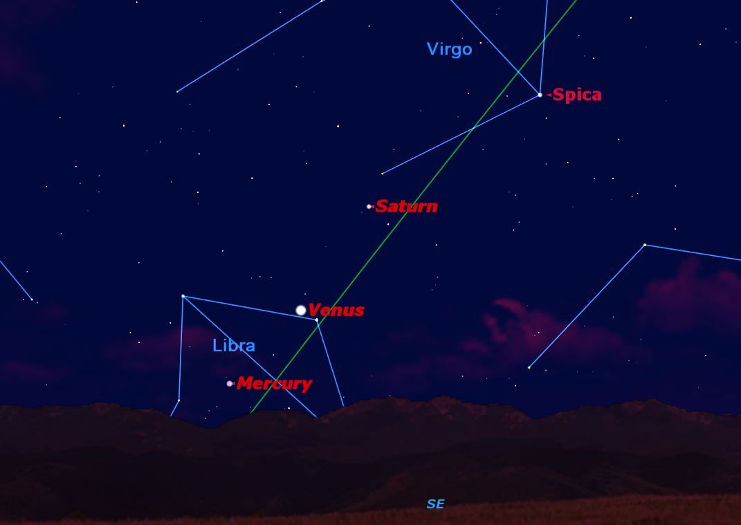 See Mercury at Dawn and Jupiter All Night Long